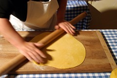 Hand made pasta. Photo: Mario Rebeschini